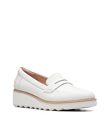 Clarks Collection Women's Sharon Ranch Platform Loafers