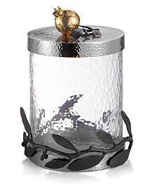 Michael Aram Pomegranate Canister, Extra Small