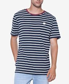 Men's Cotton Striped T-Shirt