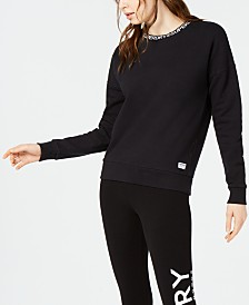 Superdry Kura Cotton Graphic Sweatshirt