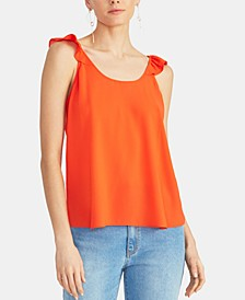 Lia Ruffled Sleeveless Top