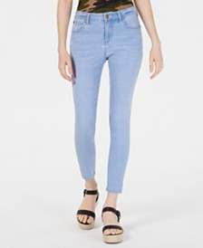 Celebrity Pink Juniors' Mid-Rise Skinny Ankle Jeans