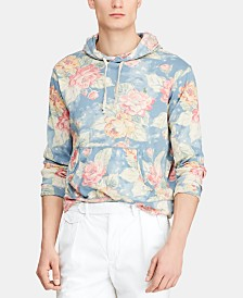 Polo Ralph Lauren Men's Floral-Print Graphic Hoodie