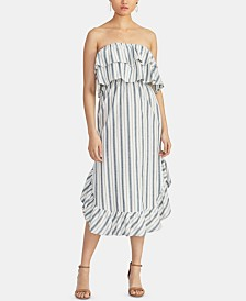 RACHEL Rachel Roy Ruffled Tube Dress