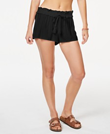 California Waves Juniors' Cover-Up Shorts, Created for Macy's