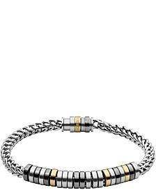 Diesel Men's Stainless Steel Chain Bracelet