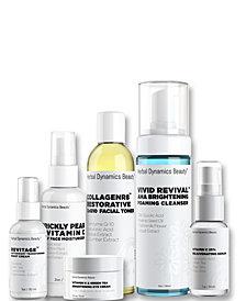 Herbal Dynamics Beauty Brightening Skincare Routine Bundle