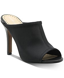 Adrienne Vittadini Galaxy Stretch Slide Sandals