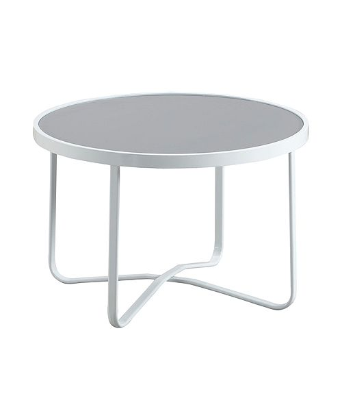 Elle Decor Mirabelle Outdoor Coffee Table, Quick Ship