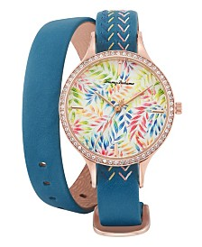 Tommy Bahama Floral Wrap Watch
