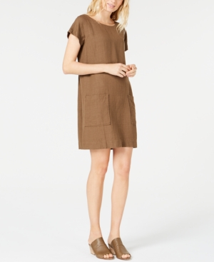 Eileen Fisher Dresses BOAT-NECK TENCELLINEN DRESS, REGULAR & PETITE