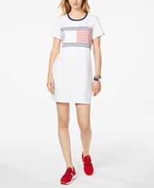 Tommy Hilfiger Sport Colorblocked Crewneck Dress