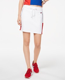 Tommy Hilfiger Sport Colorblocked Pull-On Skort