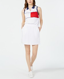 Tommy Hilfiger Sport Colorblocked Polo Dress