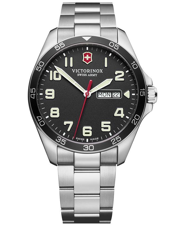 Victorinox Swiss Army - Men's FieldForce Stainless Steel Bracelet Watch 42mm