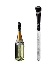 Wine Chiller-Pourer-Stopper-Aerator