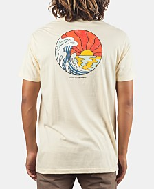 Rip Curl Men's Rays & Waves Heritage Graphic T-Shirt