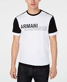 A|X Armani Exchange Men's Colorblocked Logo Graphic T-Shirt