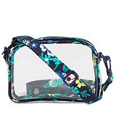 Vera Bradley Clearly Colorful Stadium Convertible Crossbody