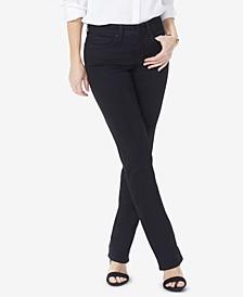 Petite Marilyn Tummy-Control Straight-Leg Jeans