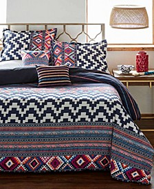 Kilim Stripe Comforter Set, Full/Queen