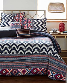 Azalea Skye Kilim Stripe Comforter Set, Full/Queen