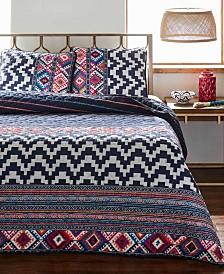 Azalea Skye Kilim Stripe Quilt Set, King