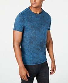 GUESS Men's Stream Mineral Wash T-Shirt