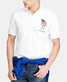 Polo Ralph Lauren Men's Classic Fit USA Bear Polo