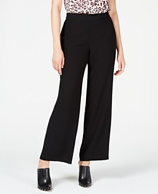 Bar III Wide Leg Pants, Create for Macy's