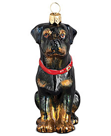 Joy to the World Rottweiler Pet Charity Ornament