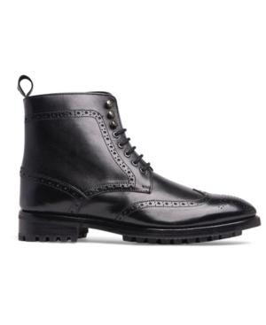 Men's Grant Wingtip Leather Dress Boot Men's Shoes