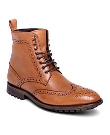Men's Grant Wingtip Leather Dress Boot
