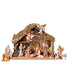 Roman Fontanini 16 Piece Set Nativity Scene