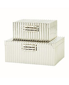 Corrugated Bamboo Box Large