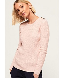 Croyde Cable Knit Sweater