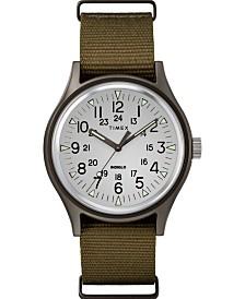 Timex Mk1 Aluminum 40mm Fabric Watch