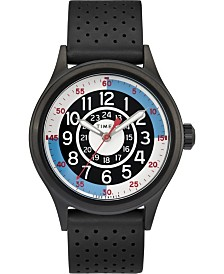 Timex X Todd Snyder Inspired 40mm Leather Strap Watch