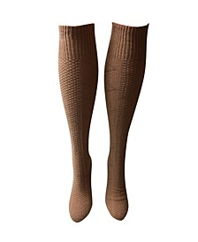 Women's Knee High Socks - Latte