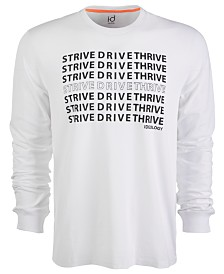 ID Ideology Men's Strive Drive Thrive Tee, Created for Macy's