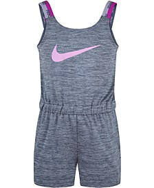 Little Girls Dri-FIT Cross-Dye Sports Romper