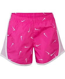 Nike Little Girls Printed Tempo Shorts