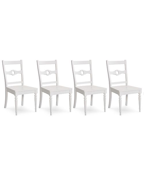 Furniture Pearl Side Chair, 4-Pc. Set (4 Side Chairs), Created for Macy's