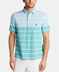 Men's Classic Fit Oxford Stripe Polo