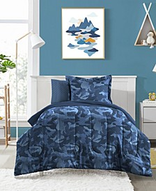 Geo Camo 5-Pc. Bed-in-a-Bags