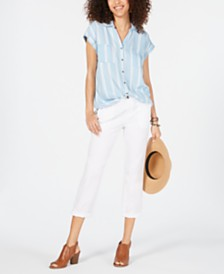 Style & Co Short-Sleeve Shirt, Created for Macy's