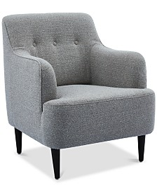 Wlliba Fabric Tufted Accent Chair