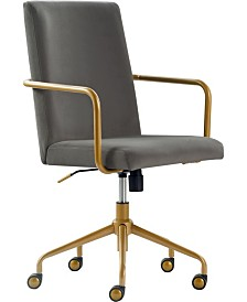 Elle Decor Giselle Office Chair, Quick Ship