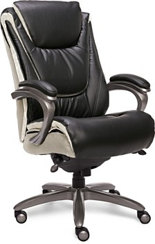 Serta Big and Tall Smart Layers Executive Office Chair, Quick Ship