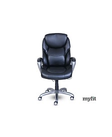 Serta Works My Fit Executive Office Chair, Quick Ship